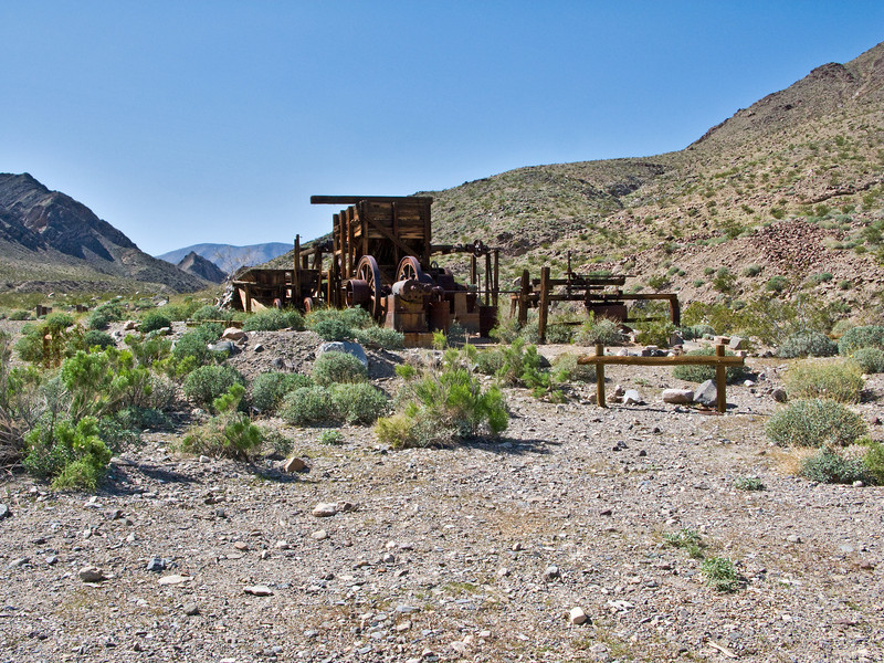 Coalmanite Mine, Death Valley