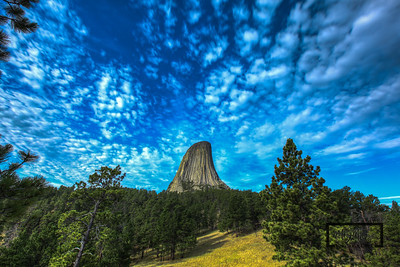Devil's Tower, Wyoming  © Copyright m2 Photography - Michael J. Mikkelson 2012. All Rights Reserved. Images can not be used without permission.
