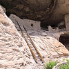 The Fifth Cave at The Gila Cliff Dwellings.  We did not Climb the Ladder.