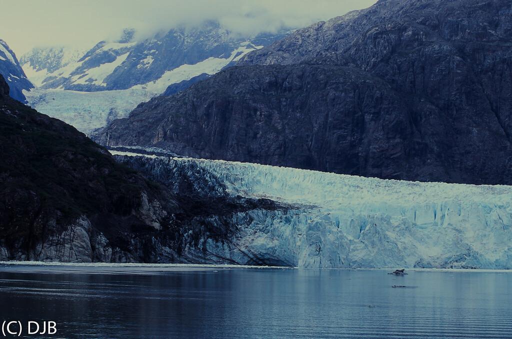 Margerie Glacier, Glacier Bay National Park, Gustavus, Alaska on September 1, 2017.