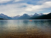 Kayaker on Lake McDonald