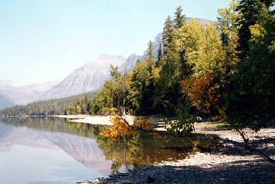 Lake McDonald Glacier NP- 1991 Fujichrome slide