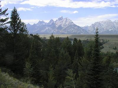 Northwest Tour 2000 - July-August, 2000  - Grand Teton National Park, Wyoming