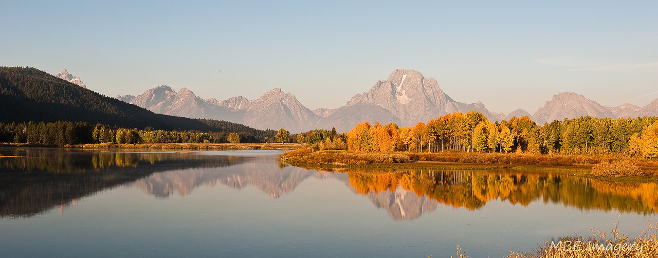 View from Oxbow Bend