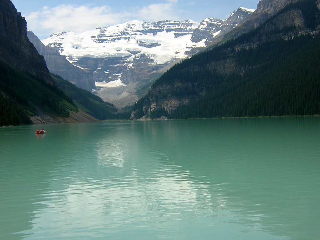 Lake Louise, Alberta, Canada. Image Copyright 2003 by DJB.  All Rights Reserved.
