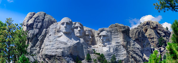Mount Rushmore Panoramic  © Copyright m2 Photography - Michael J. Mikkelson 2012. All Rights Reserved. Images can not be used without permission.