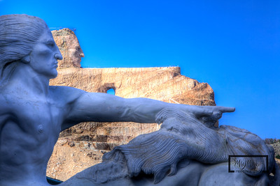 Crazy Horse Memorial  © Copyright m2 Photography - Michael J. Mikkelson 2012. All Rights Reserved. Images can not be used without permission.