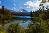 Reflextion of Lassen in Manzanita Lake