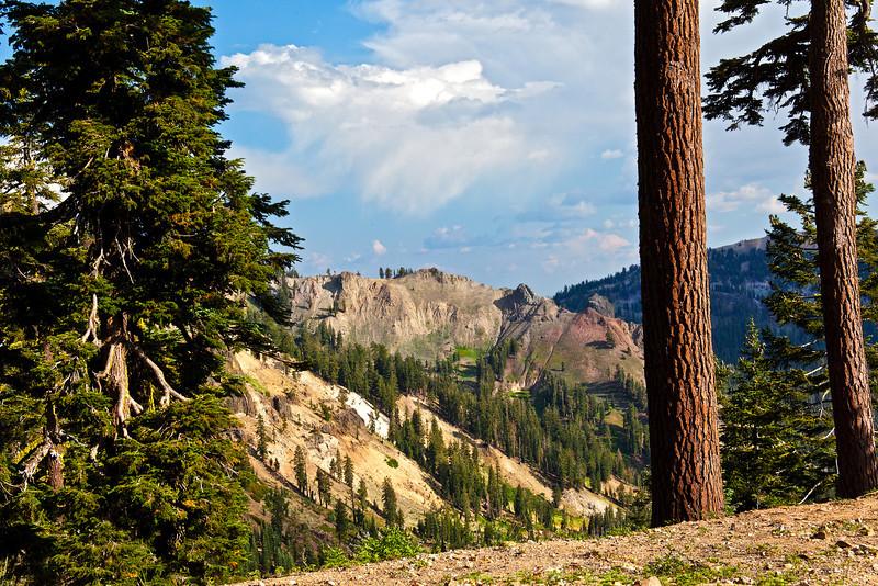 Colored Hills of Mt. Lassen