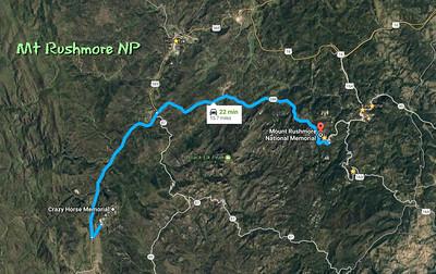 Mt Rushmore NP