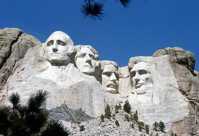 Mt Rushmore  1974. 1997...