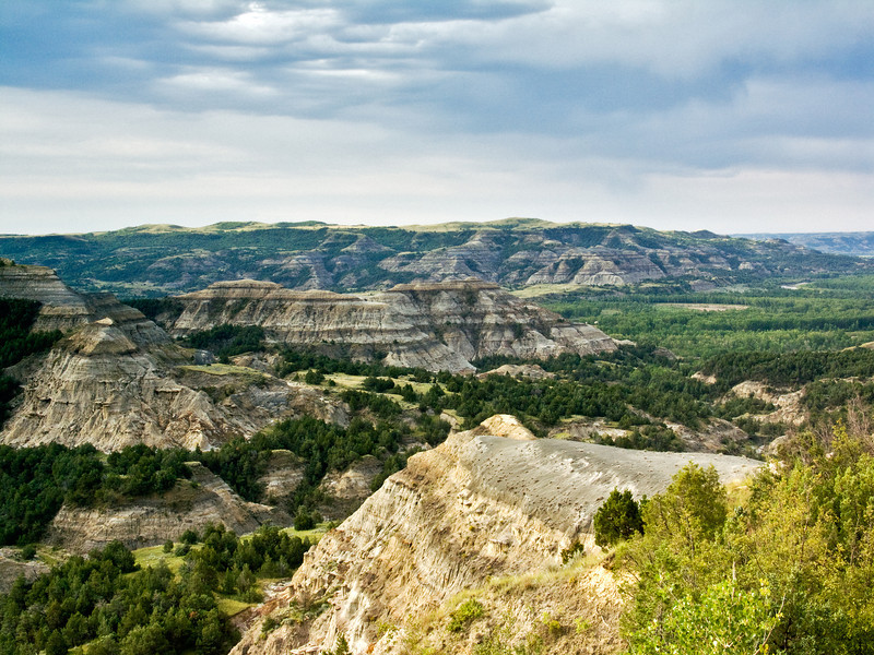 Overview of Teddy Roosevelt NP