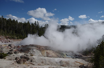 There are thousands of hot springs and vents to capture in Yellowstone
