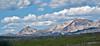 Mountains around Yellowstone NP