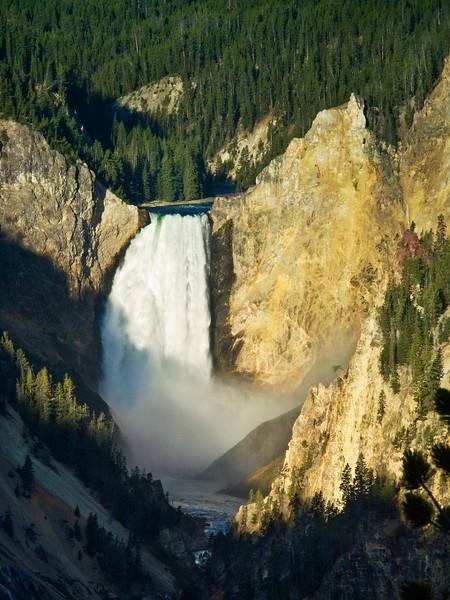 Early Morning at Yellowstone Falls