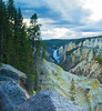 Yellowstone Falls from Afar
