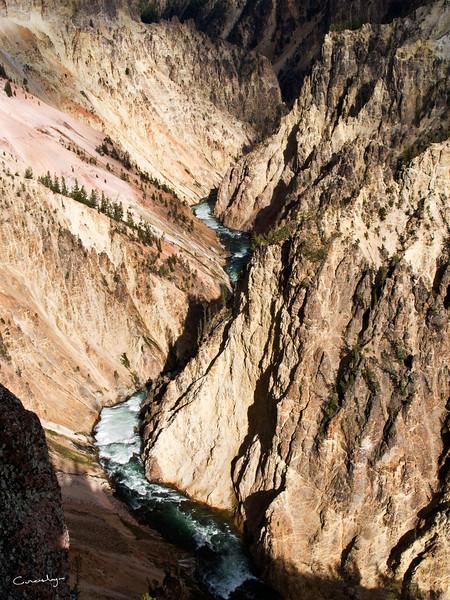 Yellowstone River Canyon Light