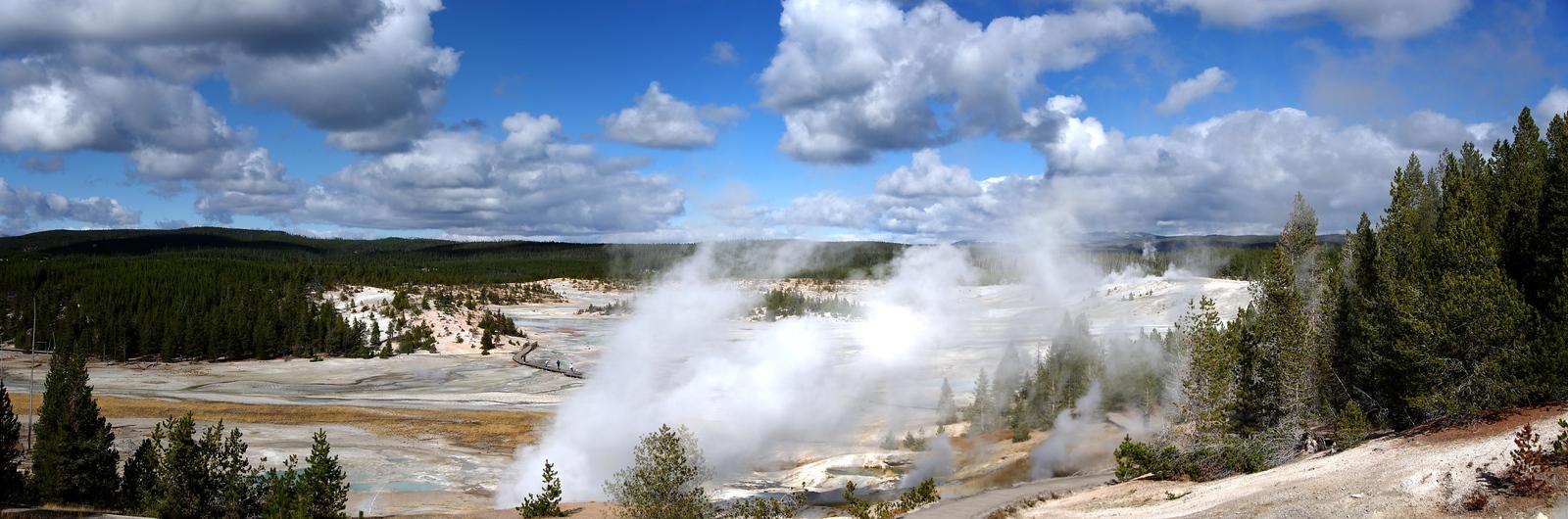Geyser Basin  2012