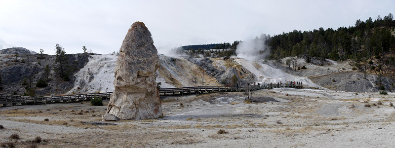 Mammoth Hot Springs - Yellowstone NP