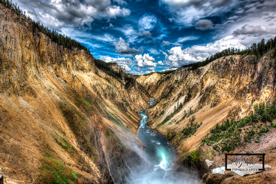 Grand Canyon @ Yellowstone  © Copyright m2 Photography - Michael J. Mikkelson 2012. All Rights Reserved. Images can not be used without permission.