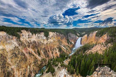 Lower Falls @ Yellowstone  © Copyright m2 Photography - Michael J. Mikkelson 2012. All Rights Reserved. Images can not be used without permission.
