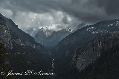 Yosemite February 2012