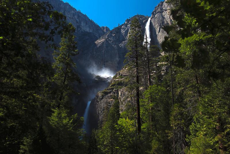 Upper & Lower Yosemite Falls HDR 1 copy