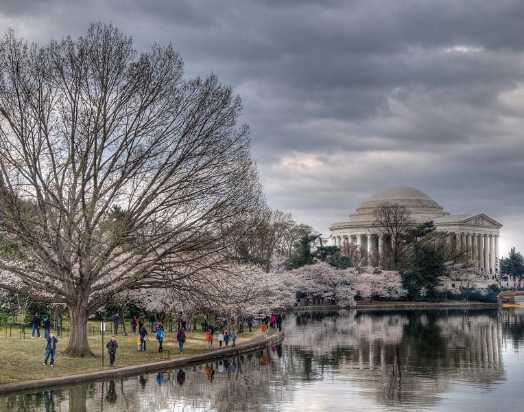 Jefferson Memorial on the Tidal Basin, National Mall, Washington, DC