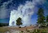 Old Faithful, Yellowstone National Park, October 1, 1996