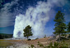 Old Faithful, Yellowstone National Park, October 1, 1996