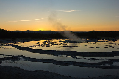 The Great Fountain Geyser, Yellowstone National Park