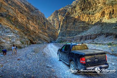 Titus Canyon Road, Death Valley, Nevada 2009 Spring Break