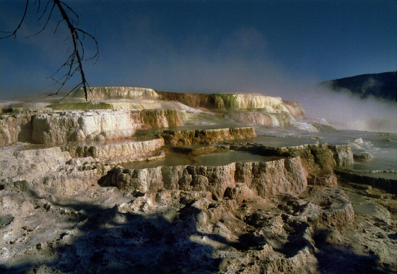 Mammoth Hot Springs, Yellowstone National Park, September 30, 1996