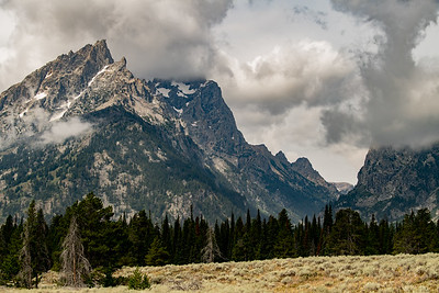 Muted Grand Tetons