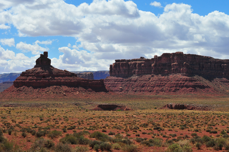 Cliffs of the Valley of the Gods<br /> Landscape along the Valley of the Gods