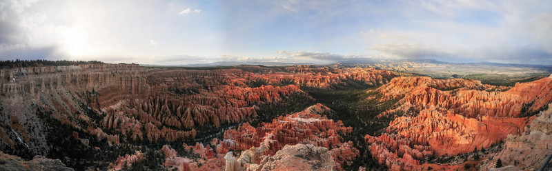 Bryce Canyon Rock Formations USA