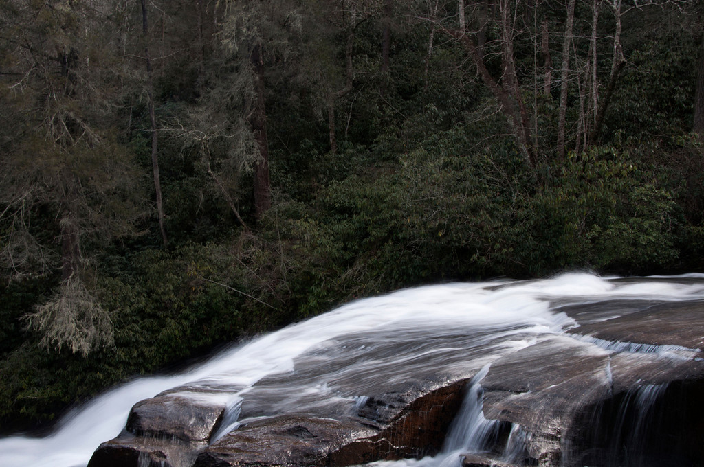 A long exposure view of the falls. This was taken in winter time so I'm sure the summer is very beautiful.