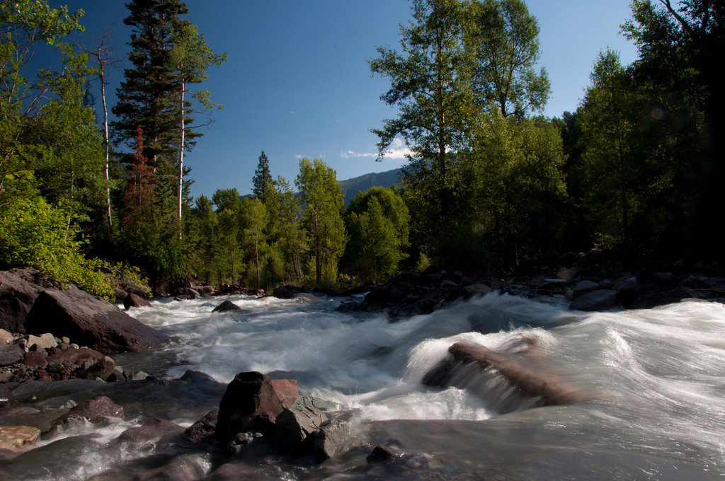 I camped near this stream for two weeks. It was totally refreshing on all levels.