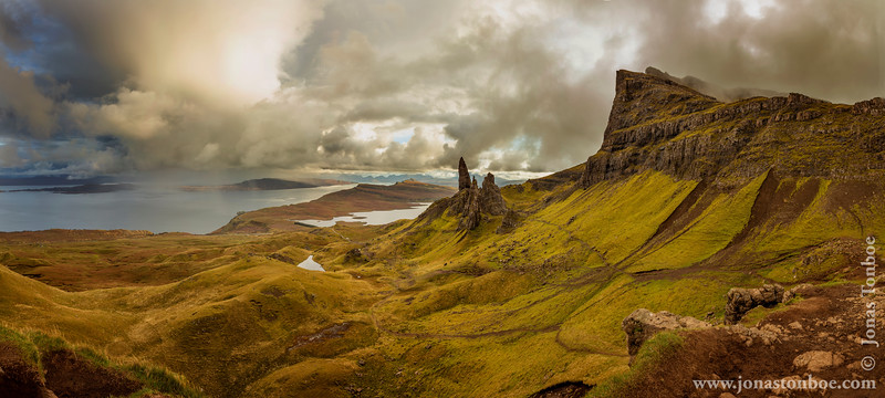The Storr, the Sanctuary and Old Man of Storr