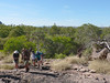 A morning hike at Nourlangie Rock.  Searching for aboriginal rock art.