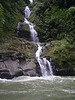 The canyon is beautiful, with many waterfalls coming into the Pacuaro from side streams.