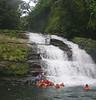 Stop at a waterfall