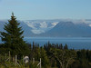 View from my bedroom in Homer, Alaska
