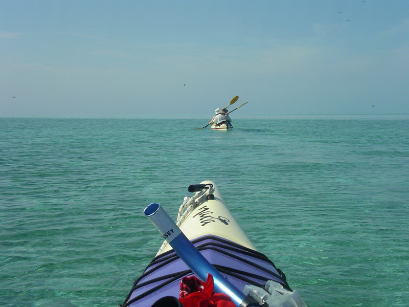 Kayaking on the protected lagoon is amazing