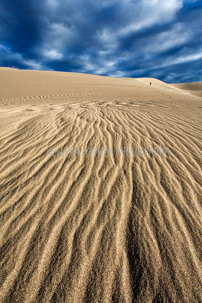 Sand Patterns - Great Sand Dunes National Park, New Mexico.