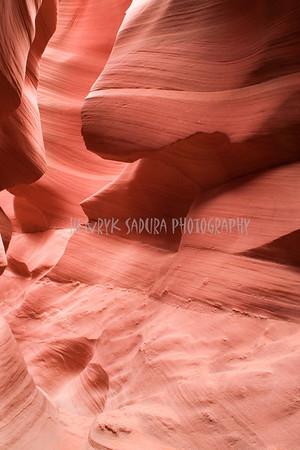 Big Nose. Lower Antelope Canyon in Page, Arizona.