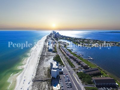 Navarre Beach Photos--Aerial