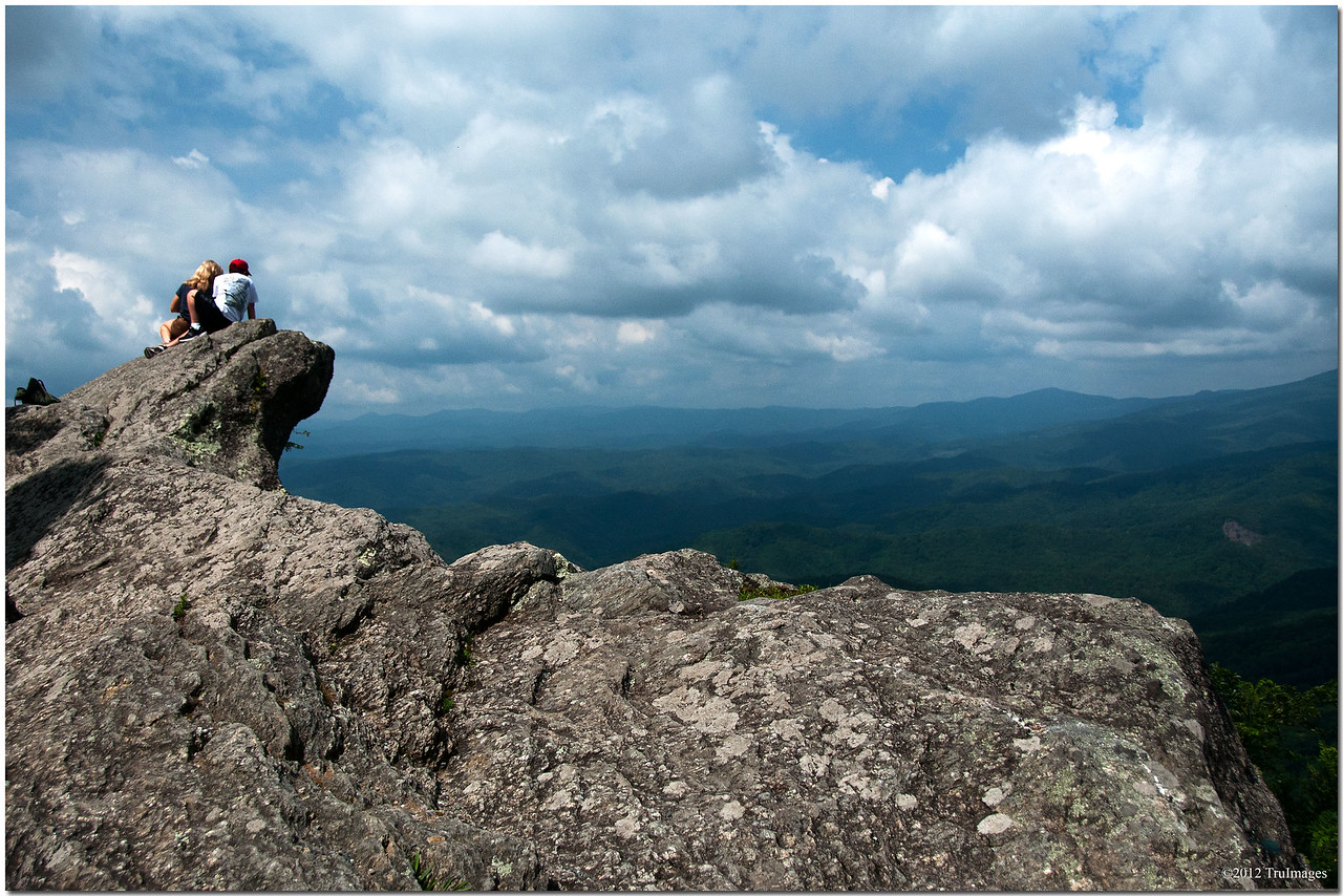 """The """"blowing rock""""<br /> Blowing Rock, NC"""
