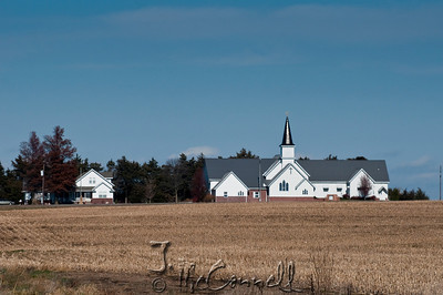 Rural Nebraska Church