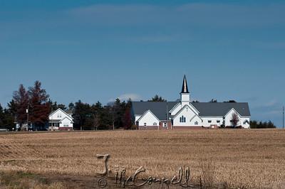 Rural Nebraska Church